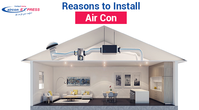 Top 6 Reasons why People are Preferring Ducted Air Conditioning Installation
